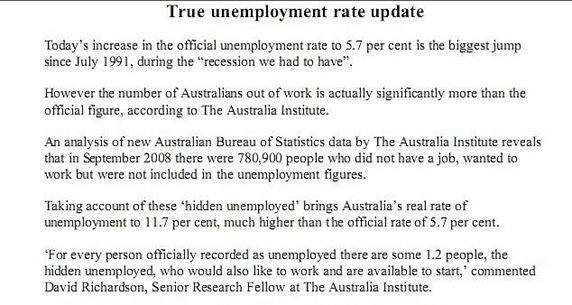 unemployment